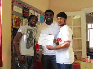 Marcus Bullock with Free Minds Members
