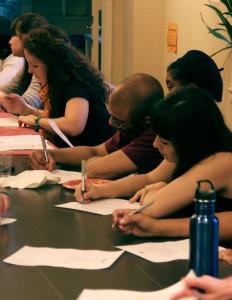 Write Night Volunteers