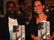 Maurice and Juliana with literary journal