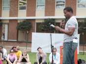 Anthony reading at GMU