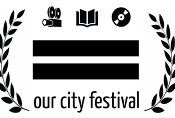 Our City Festival with Leaves Logo
