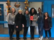 Free Minds, An Open Book, and New Beginnings staff with Tiffany Jackson