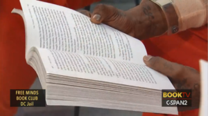 Close up of hands holding the book The Things They Carried